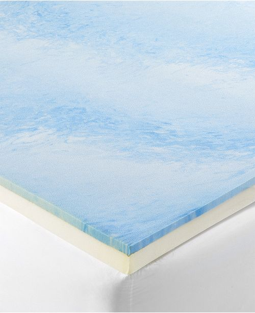 "Dusk & Dawn CLOSEOUT! 3"" Gel-Infused Memory Foam Twin Mattress Topper"