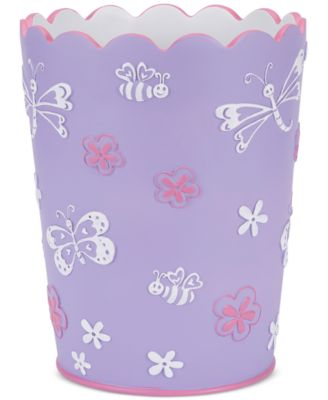 Kassa Kids Butterfly Wastebasket