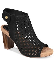 Giani Bernini Josieyy Memory Foam Perforated Shooties, Created for Macy's