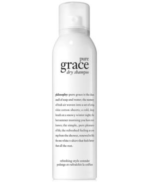 philosophy pure grace dry shampoo, 4.3 oz