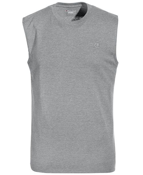 8eacdf12a4482 Champion Men s Jersey Muscle Tank   Reviews - Casual Button-Down ...