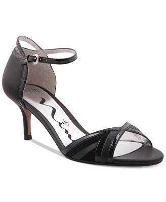 Nina Originals Chantelle Kitten-Heel Dress Sandals - Sandals ...