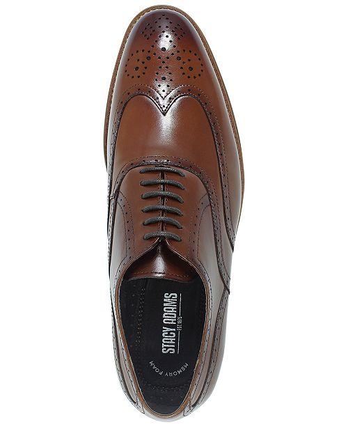 c1f389744464b Stacy Adams Men s Dunbar Wingtip Oxfords   Reviews - All Men s Shoes ...