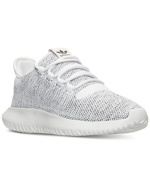 51f8ea8fc95e6 ... adidas Big Girls    Tubular Shadow Knit Casual Sneakers from Finish ...