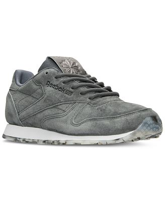 Reebok Women's Classic Leather Shimmer Casual Sneakers from Finish Line