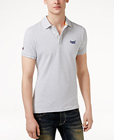Superdry Men's Classic-Fit Cotton Polo