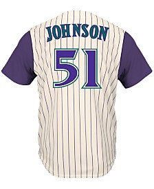 Majestic Men's Randy Johnson Arizona Diamondbacks Cooperstown Player Replica CB Jersey