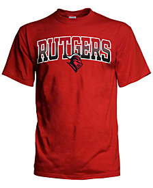 J America Men's Rutgers Scarlet Knights Gradient Arch T-Shirt