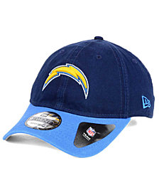 New Era Los Angeles Chargers Relaxed 2Tone 9TWENTY Strapback Cap