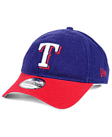 New Era Texas Rangers Relaxed 2Tone 9TWENTY Strapback Cap