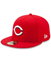 reputable site e07cd 051ab New Era Cincinnati Reds Authentic Collection 59FIFTY Cap