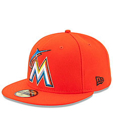 New Era Miami Marlins Authentic Collection 59FIFTY Cap