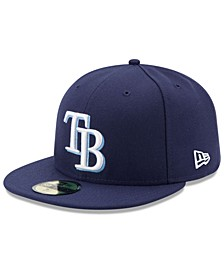 Tampa Bay Rays Authentic Collection 59FIFTY Cap