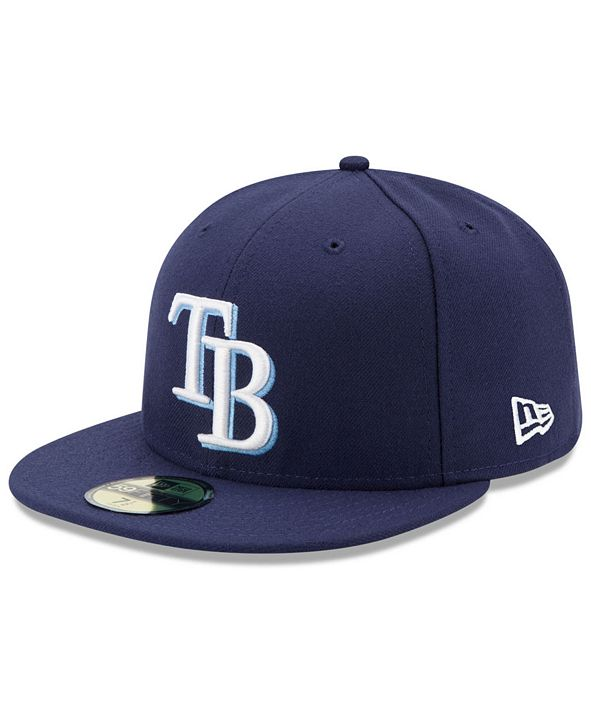 New Era Tampa Bay Rays Authentic Collection 59FIFTY Cap