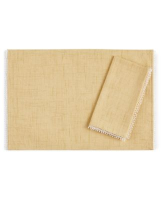 French Perle Buttercup Placemat