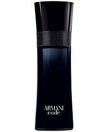 Giorgio Armani Armani Code for Men Eau de Toilette Spray, 2.5 oz