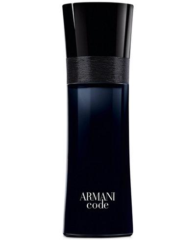 Giorgio Armani Armani Code for Men Eau de Toilette Spray, 2.5 oz