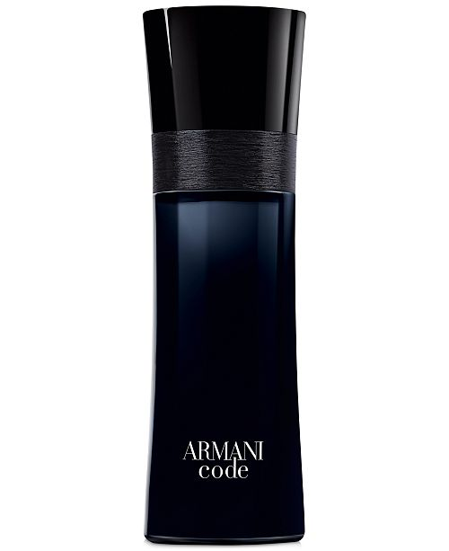 Armani Code for Men Eau de Toilette Spray, 2.5 oz