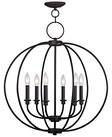 Milania 6- Light Metal Chandelier