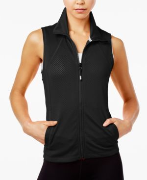 SPORT PERFORATED VEST, CREATED FOR MACY'S