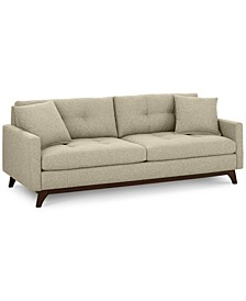 "Nari 83"" Fabric Tufted Sofa, Created for Macy's"