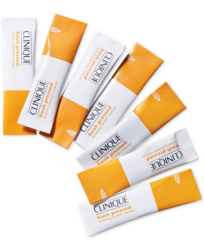 Clinique Fresh Pressed Vitamin C Renewing Powder Cleanser - 4 Week Supply