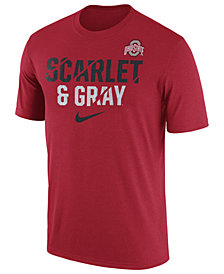 Nike Men's Ohio State Buckeyes Legend Ignite Verbiage T-Shirt