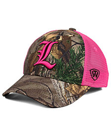 Top of the World Women's Louisville Cardinals Hunter Snapback Cap