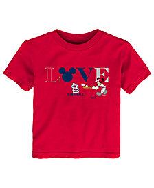 Outerstuff St. Louis Cardinals Mickey Love T-Shirt, Toddler Girls
