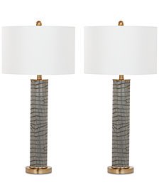 Safavieh Set of 2 Ollie Table Lamps