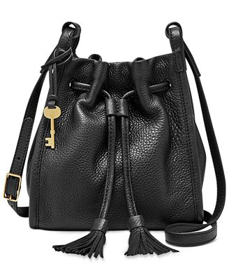 Fossil Claire Drawstring Small Crossbody Bag