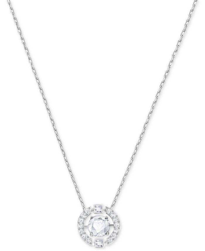 Swarovski - Floating Crystal Pendant Necklace