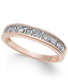 Diamond Channel Ring in 14k Gold (1/2 ct. t.w.)