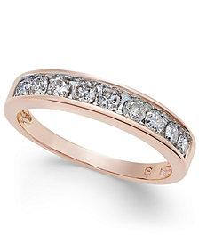 Diamond Channel Ring in 14k Gold (1/2 ct. t.w.)