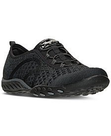 Skechers Women's Relaxed Fit: Breathe Easy - Fortuneknit Casual Walking Sneakers from Finish Line