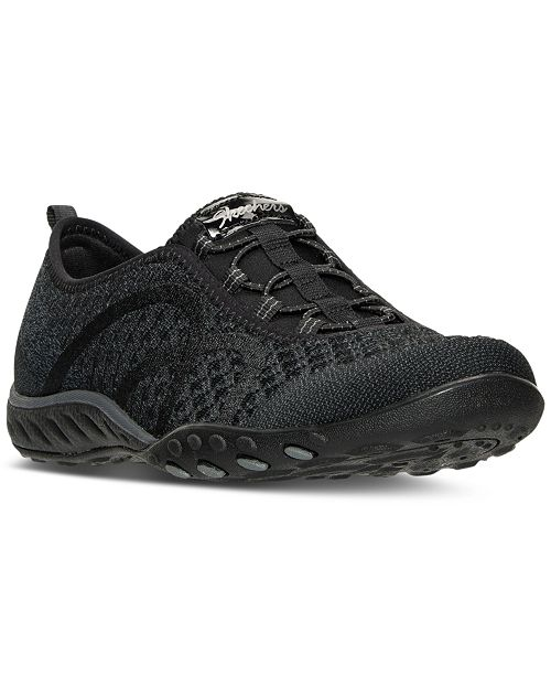 d216d2ad930 ... Skechers Women's Relaxed Fit: Breathe Easy - Fortuneknit Casual Walking  Sneakers from Finish ...