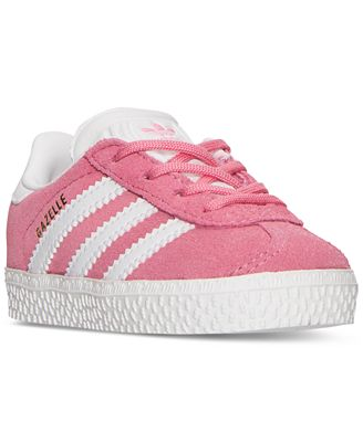 adidas Toddler Girls Gazelle Casual Sneakers from Finish