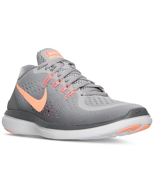 outlet store 5be8f b64d3 ... Nike Women s Flex 2017 Run Running Sneakers from Finish ...