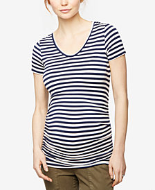 A Pea In The Pod Maternity Striped T-Shirt