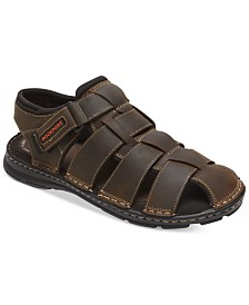 Rockport Men's Darwyn Closed-Toe Fisherman Sandals