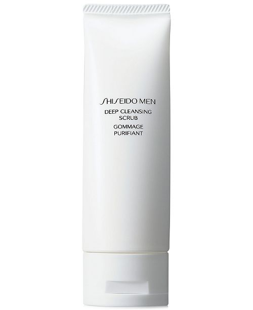Shiseido Men Deep Cleansing Scrub, 4.6 oz
