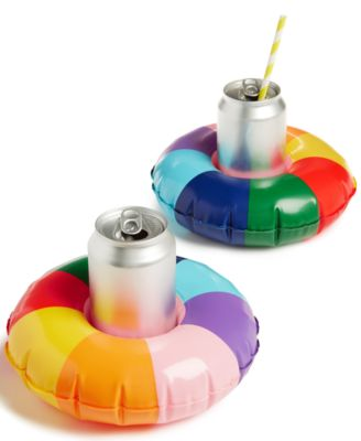 Image of ban.do Please! Rainbow 2 Pk. Drink Floats