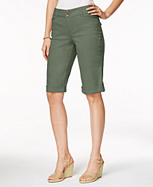 Charter Club Cuffed Bermuda Shorts, Created for Macy's