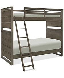 Big Sky Wendy Bellissimo Kids Twin over Twin Bunk Bed