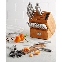 Macys deals on Chicago Cutlery Insignia Cafe 18-Pc. Cutlery Set
