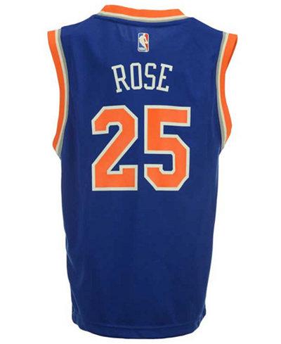 adidas Derrick Rose New York Knicks Revolution 30 Jersey, Big Boys (8-20)