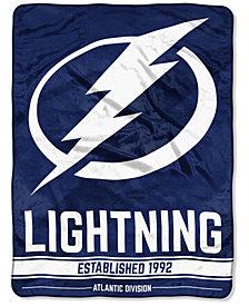 "Northwest Company Tampa Bay Lightning Micro Raschel 46x60 ""Break Away"" Blanket"