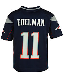 Nike Julian Edelman New England Patriots Game Jersey, Toddler Boys (2T-4T)