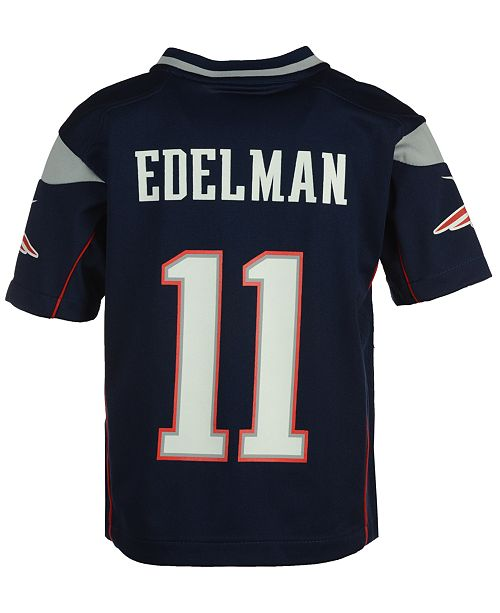 huge discount 6a8b5 e2335 Nike Julian Edelman New England Patriots Game Jersey ...
