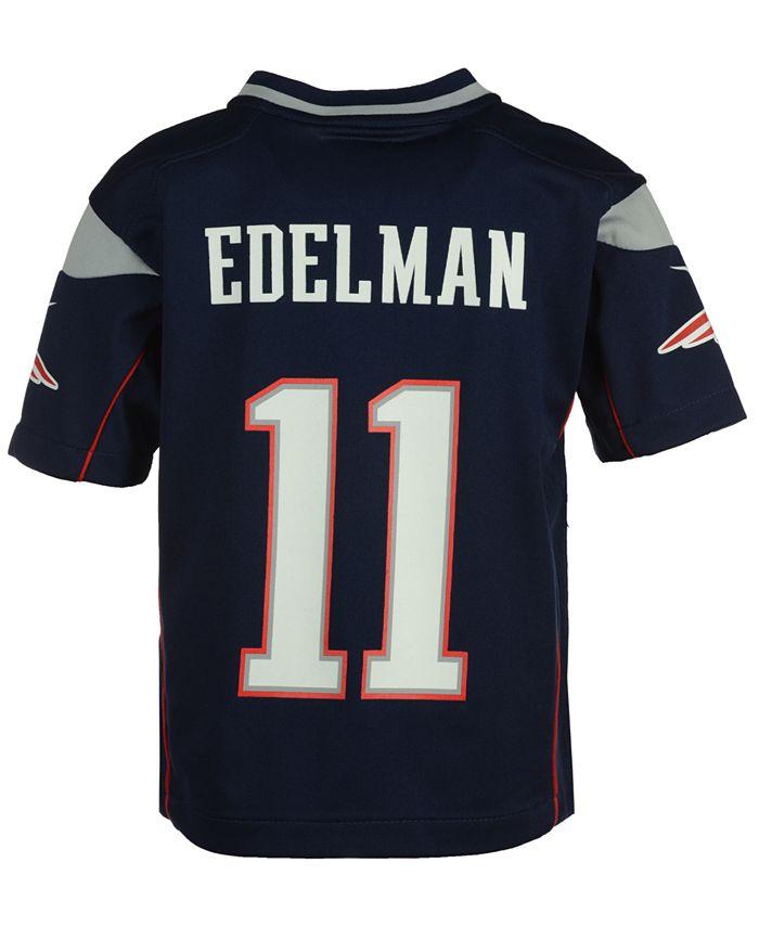 Nike Julian Edelman New England Patriots Game Jersey, Toddler Boys ...